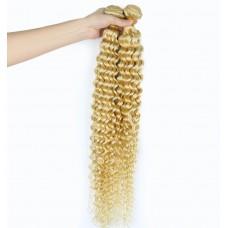 Wholesale Blonde Color Bundles Virgin Brazilian Deep curly