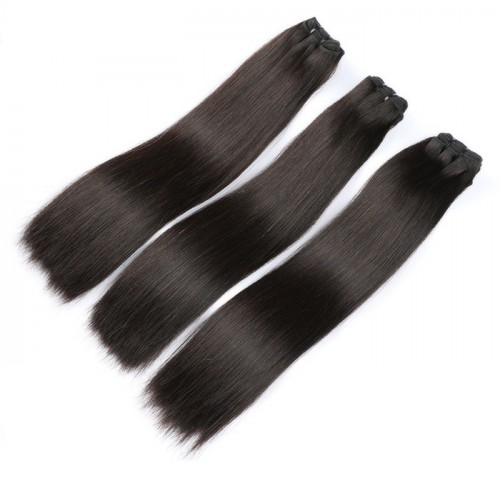 super double drawn raw hair  vendors extension cuticle aligned hair