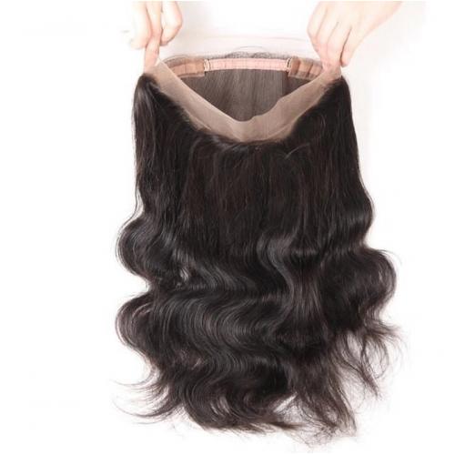 360 lace frontal body wave wholesale brazilian virgin hair