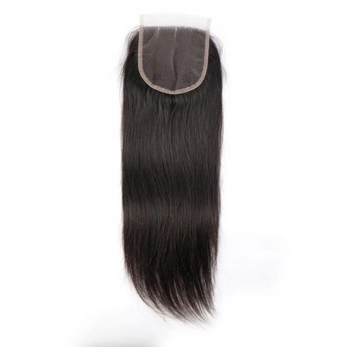 straight lace closure Top quality 100% human hair wholesale price