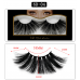 Natural 6D Mink Hair False Eyelashes 25mm Long Lashes Extension