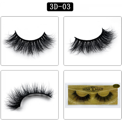 wholesale high quality cruelty free 3D mink eyelashes with private label lashes packaging