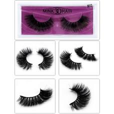 Free samples custom private label human hair mink lashes 3D mink eyelash