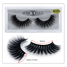 Free samples custom private label human hair mink lashes 3D mink eyelash