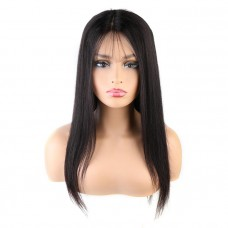 Straight Frontal Lace Wig Wholesale Unprocessed Brazilian Human Hair
