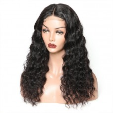 200 Density 4x4 5x5 6x6 7x7 Lace closure Wig body wave Natural Color straight Lace closure Wigs with baby hair