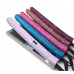 New Fashion bling flat iron vapor,wholesale custom private label flat iron, led display steam bling hair straightener