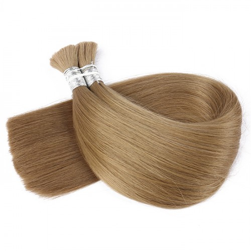 10 color Bulk Hair Factory Price Real Human Hair Top Quality Color Silky Straight