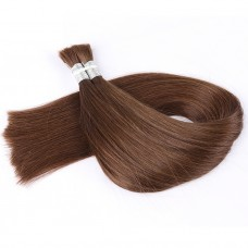 4 colo Bulk Hair Factory Price Real Human Hair Top Quality Color Silky Straight
