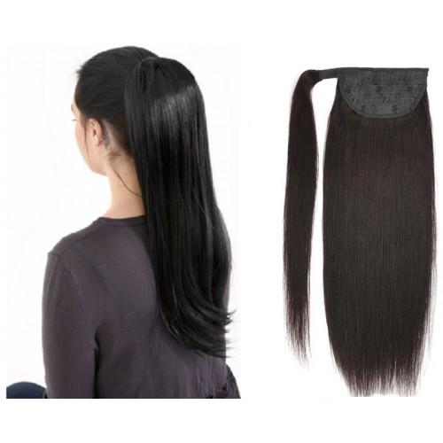 Ponytail Hair Extension 100g Cuticle Aligned Ponytail 100% Vigin Human Hair Ponytail